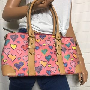 Dooney And Bourke Hearts Handbag